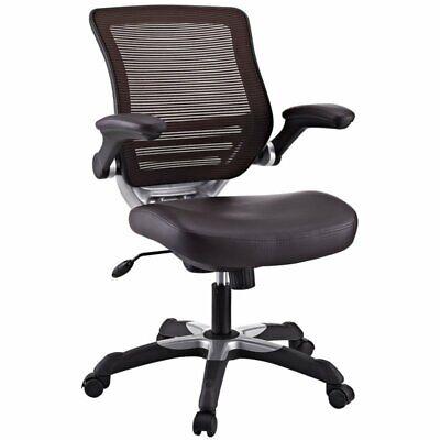 EEI-595-BRN Edge Vinyl Office Chair