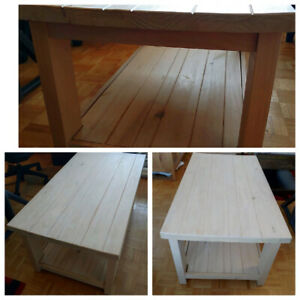 Pine Coffee Table - HIGH PARK