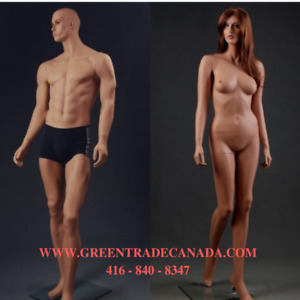 ~ New Mannequins, Mannequin Heads ~ Best Prices / High Quality!