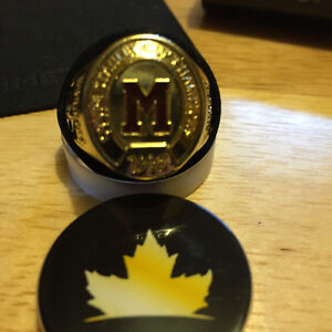 Montreal Maroons ( Molson Canadian Ring 1935 ) ( trading OFF )
