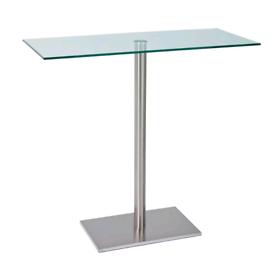 Glass bar table ..new..