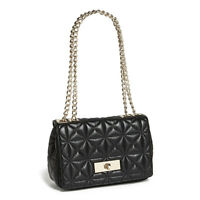 Lost Black Kate Spade Purse with Gold Chain