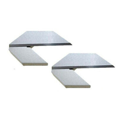 Center Square 1.5 Inch Made From Ground Tool Steel Hardened Blade Combo Of 2 Pcs