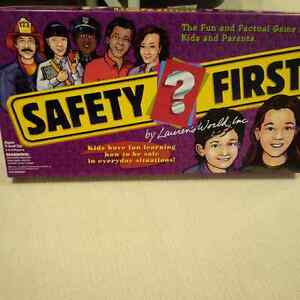 Safety First Game Ages 5+