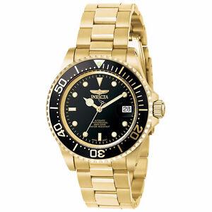 Invicta Men's 8929OB Pro Diver Japanese Automatic Gold Watch