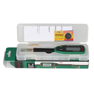 Tweezers Smart SMD RC Resistance Capacitance Diode Meter Tester LCD Multimeter