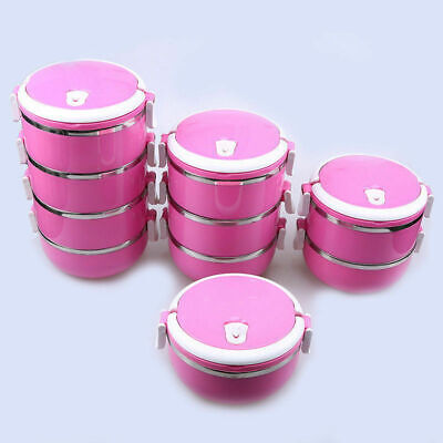 Portable Thermal Insulated Bento Lunch Box Cute Rice Sushi M
