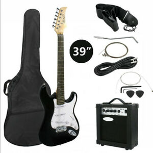 NEW ADULT ELECTRIC GUITAR AMP PACKAGE SET FULL AS LOW AS 149.95