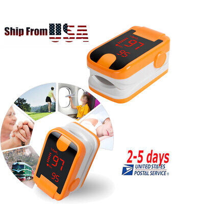 Led Fingertip Pulse Oximeter-spo2 Pr Oxymeter Blood Oxygen Monitor Oximetry Best
