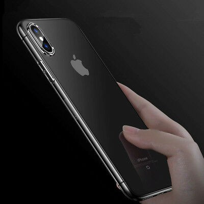 Ultra Slim Crystal Clear Protector Shockproof Soft Cover For Apple iPhoneX Case Clear Crystal Case Protector Cover