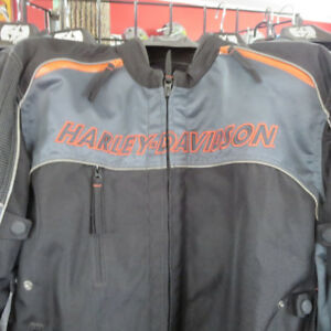 Men's Harley Davidson Textile Motorcycle Jacket - RE-GEAR