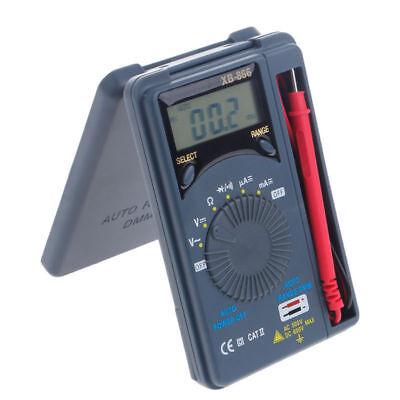 Xb866 Mini Auto Range Lcd Voltmeter Tester Tool Acdc Pocket Digital Multimeter