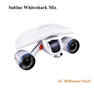 https://www.dronenerds.com/products/drones/consumer-drones/underwaterdrones/sublue-whiteshark-mix-underwater-scooter-arctic-white-mixaw01-sublue.html White Portable&Small Size Underwater Scooter,1.5m/S Speed