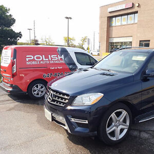 Mobile Detailing - 647-824-2886 - We bring water and power !