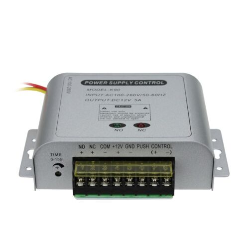 12V 5A Special Power Supply Adapter for Door Access Control System
