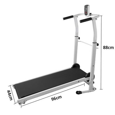 Folding Treadmill Motorised Running Machine Electric Power Fitness Exercise Home