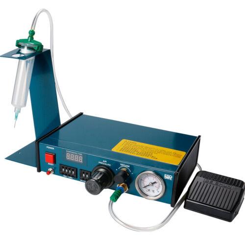 110V CA US Auto Digital Glue Dispenser Tool Solder Paste Liquid Drop Machine