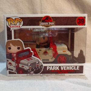 Funko Pop Rides Jurassic Park Jeep
