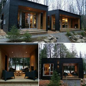 Waterfront (Modern cottage ) Mont-Tremblant , Qc area