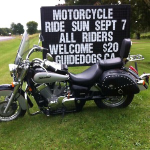 2004 Honda Shadow Aero 750