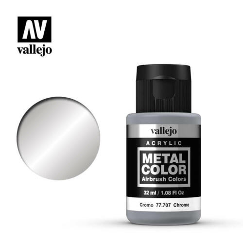 Vallejo Acrylics Metal Color Airbrush Paints 32 ML You choose