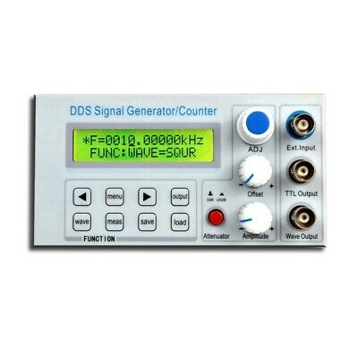 Sgp1010s Dds Function Signal Generator Digital Sine Square Wavefrequency Counter