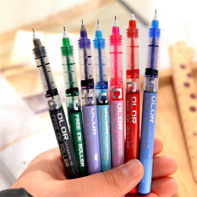 - 0.5mm Gel Pen Full Needle Multicolor Stationery Office School Essential Supplies
