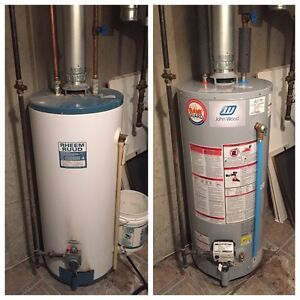 Hot Water Tank $199 Install - NO HIDDEN FEES Edmonton Edmonton Area image 1