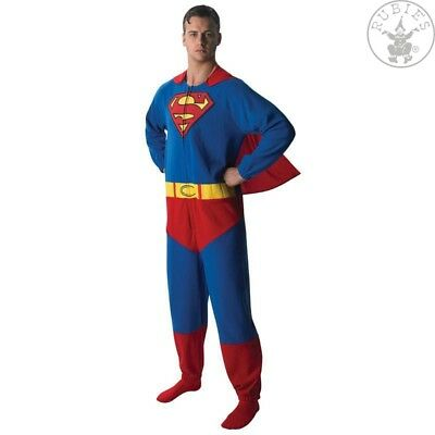 RUB 3880332 Superman Lizenz Kostüm Onesie Overall aus kuscheligem Fleece + Cape