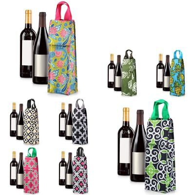 (Thermal Insulated Lightweight Wine Bottle Tote Carry Bag for Party)