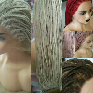 Brand New box braids lace front glueless wigs 28 inch New Farm Brisbane North East Preview