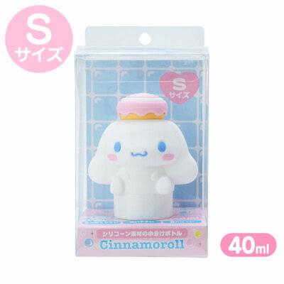 Cinnamoroll Silicon character-shaped bottle S 40ml Sanrio kawaii 2021 NEW