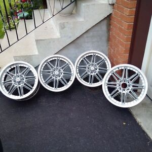 17inch BSA spoked Rims fits all Honda's