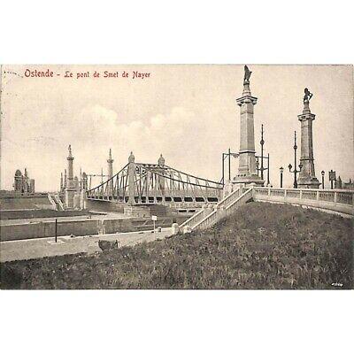 Ostende - Le Pont de Smet de Nayer.