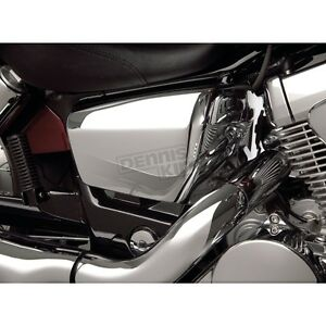 Couvercle lateral Show Chrome 53-427 VT-750