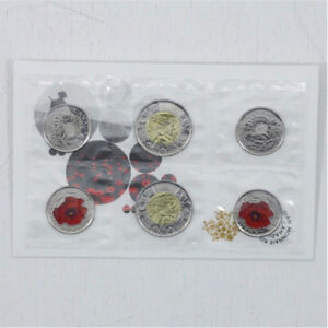 2015 RCM - Flanders Fields / Poppy: Remembrance Day Set COINS