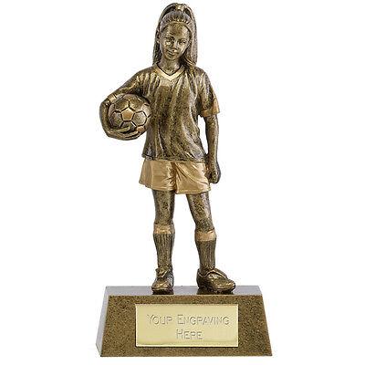 PHOENIX YOUTH FEMALE FOOTBALL TROPHY GIRL PLAYER AWARD FREE ENGRAVING - Female Football Player
