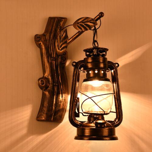 European Nautical Style Wall Light Fixtures Glass Shade Sconce Hallway Wall Lamp
