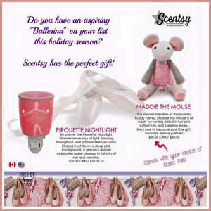NEW Maddie the Mouse scentsy buddy London Ontario image 2