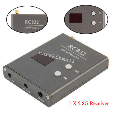 FPV 5.8G 1W 1000MW Video Audio Rx Receiver 5.8GHz for FPV Good Help Better Top