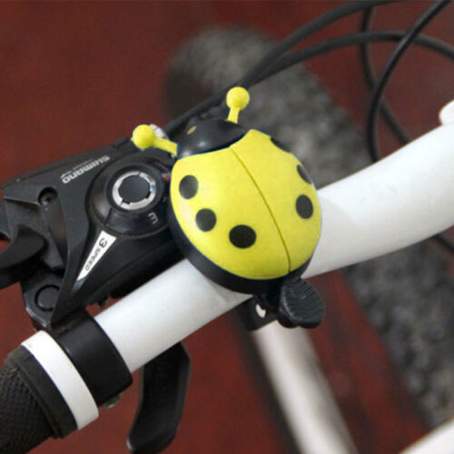 Childrens Bike Bell Bicycle Boys Girls Ladybird Bug Funny De