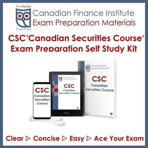 (CSC)Canadian Securities Course Textbook 2019 Vancouver