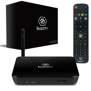 Buzztv XPL3000 4K Quad Core Dual Band Wireless Android 6