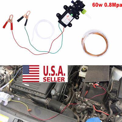Motor Oil Diesel Fuel Fluid Extractor 12v Electric Siphon Transfer Change Pump