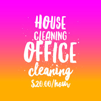 House or office cleaning