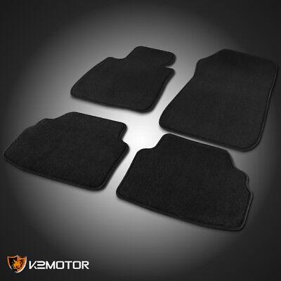 2005-2009 BMW E90 3-Series Black Car Floor Mats Carpet Front + Rear 4PC Kit