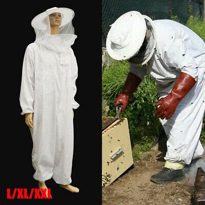 2xl Beekeeper Protect Bee Jacket Keeping Suit Safty Veil Hat Body Equipment Hood
