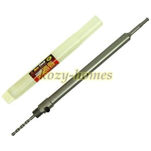 AM-TECH 350mm SDS+ CORE DRILL EXTENSION BAR WITH PILOT BIT