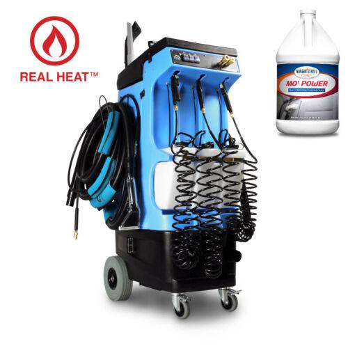 U.S.A. Mytee 80-120 Prep Center S W/ Heat + Bulk Carpet Extractor Cleaner
