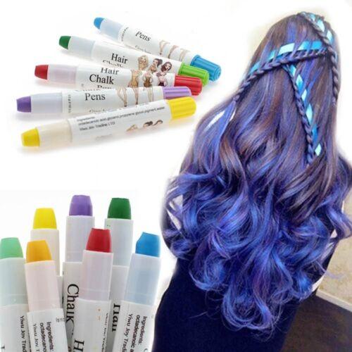 Schönheit Temporäre Haar färben Stift Bunt Einfach Farbe Einweg Haarschutz NBDE